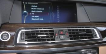 BMW F01 Tv Donanımı