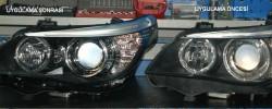 BMW E60 Lci Far Uygulaması